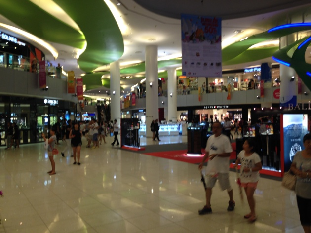 This mall was big enough to be called Vivo City