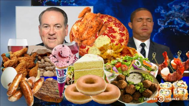 Huckabee Food-Based Politics